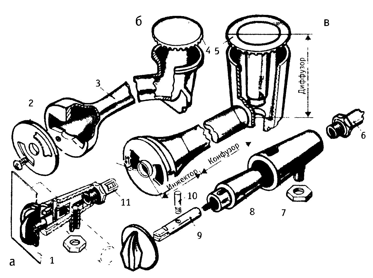 Ремонт настольной газовой плиты своими руками 76